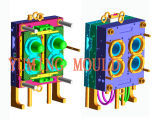 4cavity Pet Jar Preform Mould