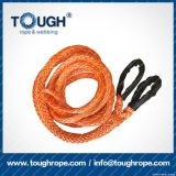 Orange11.5mmx28m4X4 Synthetic Winch Rope Tough Rope 100% Uhwmpe Fiber