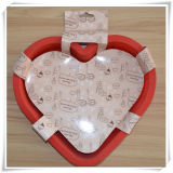 Hot Silicone Heart-Shaped Cake Mold for Cake (VR14009)