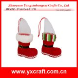 Christmas Decoration (ZY16Y194-1-2 12CM) Christmas Ornaments Christmas Tree Hanging Boot Product