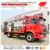 Medium Duty Low Bed Truck for Engineering Machine Transport