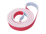 At20 PU Timing Belt Coated with Red Rubber