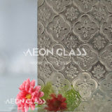 3mm, 3.5mm, 4mm, 5mm, 6mm and 8mm Patterned Glass, Figured Glass, Bronze Flora Glass