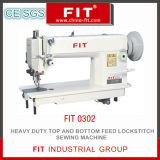 Heavy Duty Top and Bottom Feed Lockstitch Sewing Machine 0302