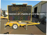 Traffic Mobile LED Display Trailer Vms Signs