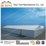 Deyi 18m Width Warehouse Tent with Steel Walls and Rolling-up Door