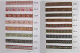 Nylon Cotton Ribbon Embroidered Fabric