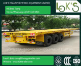 40 Feet Tri Axle Flatbed Cargo Trailer