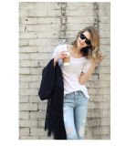 High Quality Bamboo Cotton Women's Blouse Price