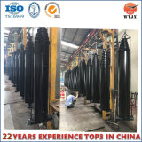 Front Mount Telescopic Hydraulic Cylinder for Vacuum Trucks and Trailers