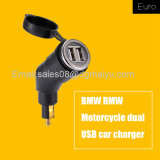 3.3A Motorcycle Power Adapter Dual USB Charger DIN Plug for BMW Hella Powerlet