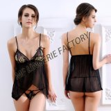 Hot Style New Sling Lingerie Flower Embroidered Fancy Underwear Factory
