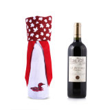 Wine Bottle Gift Cotton Fabric Bags Design (CWB-2025)