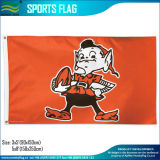 Cleveland Browns Brownie The Elf Vintage NFL Football 3′x5′ Flag