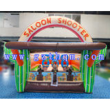 Outdoor Beach Inflatable Shooting Game/0.55m PVC Inflatable Sport Games