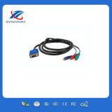 VGA to 3 RCA AV Audio Video Cable
