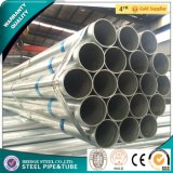 Q235B Pre-Galvanized Steel Pipe 40g Zinc Coating Gi Round Hollow Sections Used for Structural Tubes