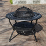 New Design Durable Cast Aluminium Outdoor Patio Furniture with BBQ Grill
