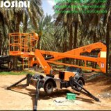 Manufacture Directly Supply Ce Approved 8-16m Hydraulic Boom Lift Self Propellered Cherry Picker Lift