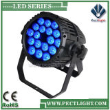 Waterproof Outdoor 18X12W RGBWA LED PAR Can Light