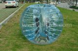 Crazy Sport! ! ! Hot Sale Half Color TPU Inflatable Human Sized Soccer Bubble Ball, Loopy Ball
