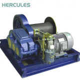 Hydraulic Slipway Winch for Decking Machine