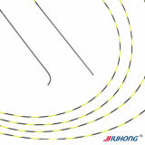 Straight/Angled Shape Available! ! Bicolor Spiral Hydrophilic Guide Wire