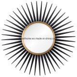 Premium and Fine Price Starburst Metal Mirror for Home Decor