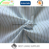 100 Polyester Lining Men′s Suit Sleeve Lining Yarn Dyed Striped Lining