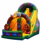 Commercial Animal Jumping Castles Inflatable Slide for Kids