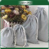 OEM Cotton Canvas Drawstring Storage Jewelry Bag Price