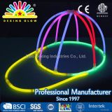 Multicolor Glow Plastic Cap for Christmas Party