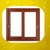 Double Panes Sliding Aluminum Wood Window