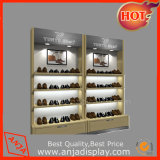 Wooden Shoes Display Shelf for Trade Show