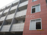 Fiber Cement Board (CE Marking Colorful Exterior Cladding or Facade)