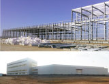 Prefabricated Steel Structure Workshop for Manufacturing Plastic