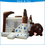 Animal Kids Inflatable Bounce House Slide