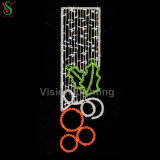 2018 Hot Selling 2D Motif Street Light for Holiday Decoration