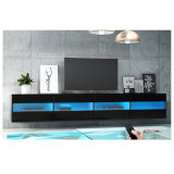 High Gloss UV Board Door LED TV Stand Unit Furniture