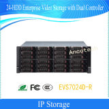 Dahua 24-HDD Enterprise Video Storage with Dual Controller (EVS7024D-R)
