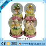 Polyresin Lover Water Snow Globe (HG154)