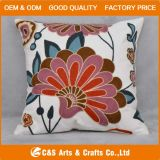 Custom New Design Appliqued Fabric Cushion for Home Textile
