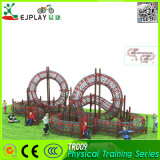 Wholesale New Physical Outdoor Playground with Climbing Net and Climbing Wall