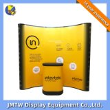New Portable Customized Curve Pop up Display