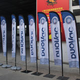 Custom Wind Flying Feather Flag Banners for Sales
