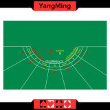 7 - Player Poker Casino Table Layout Green Color with Equipment Baccarat Table Layout (YM-BL07G-2)