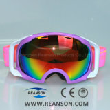 Large Vision Anti-Fog Anti-Scratch Adult Skiing Goggles