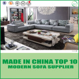 Modern Home Furniture Italian Design Corner Fabric Leisure Sofa