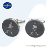 Fashion Personalisable Engravable Cheap Simple Metal Men Cufflink