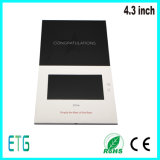 Most Thinnest A4 Brochure 4.3 Inch TFT LCD Electronic Postcard